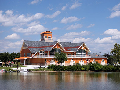 Camden County Boathouse at Cooper River